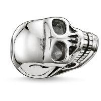 Ladies Thomas Sabo Sterling Silver Karma Beads Small Skull Bead K0064-001-12
