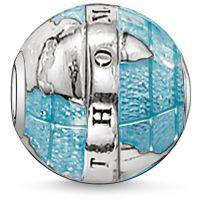 femme Thomas Sabo Jewellery Karma Beads Wonderful World Bead Watch K0036-007-1