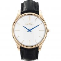 Mens Kennett Kensington Rose Gold White Black Watch