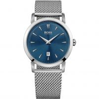 Hugo Boss Slim Ultra Round Herenhorloge Zilver 1513273