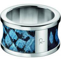 Damen Calvin Klein Edelstahl Größe R/S Spellbound Ring