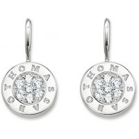 Ladies Thomas Sabo Sterling Silver Glam & Soul Drop Earrings