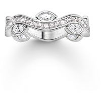 Ladies Thomas Sabo Sterling Silver Size P.5 Ring