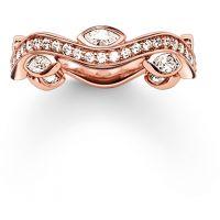 Damen Thomas Sabo Sterlingsilber Größe M.5 Ring