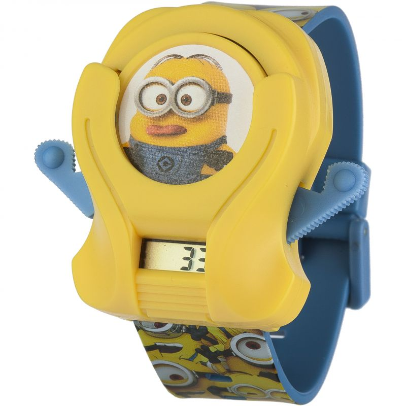 Childrens Character Minions Flying Disc Watch MNS9