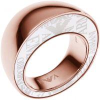 Ladies Emporio Armani Stainless Steel Size M.5 Ring EGS1873221505