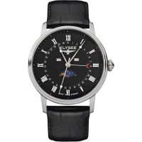 homme Elysee Momentum Moonphase Watch 77003L