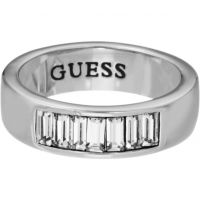 Ladies Guess Stainless Steel Ring Size P UBR51401-56