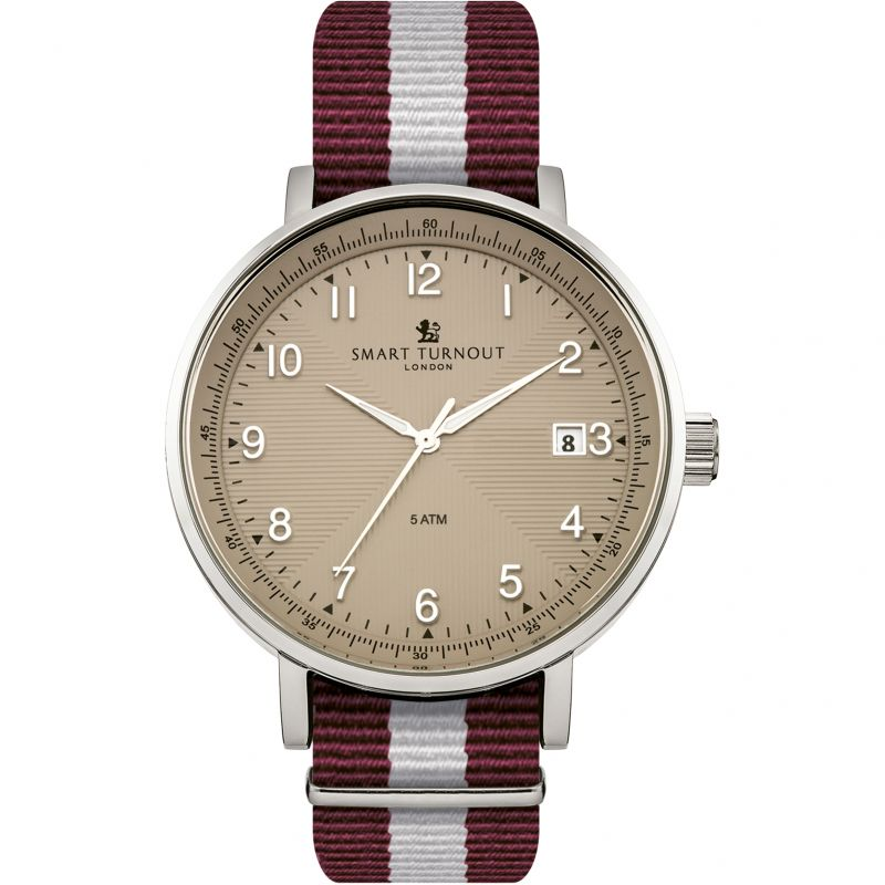 Mens Smart Turnout Scholar Watch Beige Harvard University Watch STH3/BE/56/W-HARV