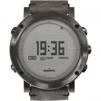 homme Suunto Essential Altimeter Barometer Compass Alarm Chronograph Watch SS021216000