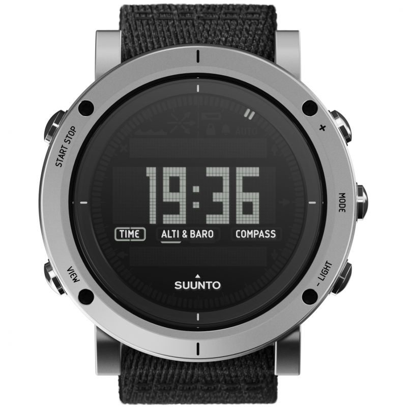 Mens Suunto Essential Altimeter Barometer Compass Alarm Chronograph Watch SS021218000