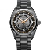 Eterna KonTiki Four Hands Herenhorloge Zwart 1598.33.41.1722