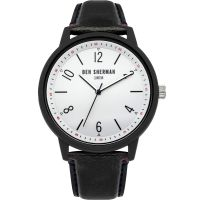 Ben Sherman London Herenhorloge Zwart WB050BWB