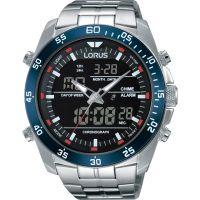 Herren Lorus Wecker Chronograf Uhr