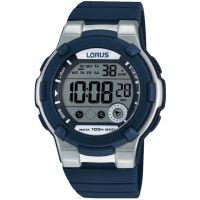 Mens Lorus Alarm Chronograph Watch