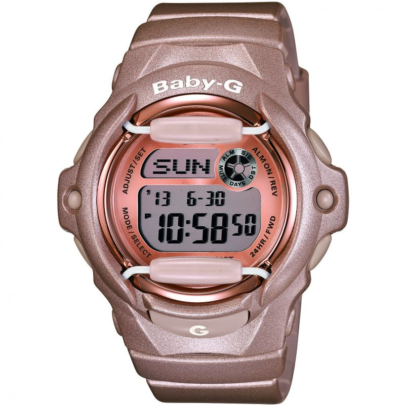 Damen Casio Baby-G Alarm Watch BG-169G-4ER