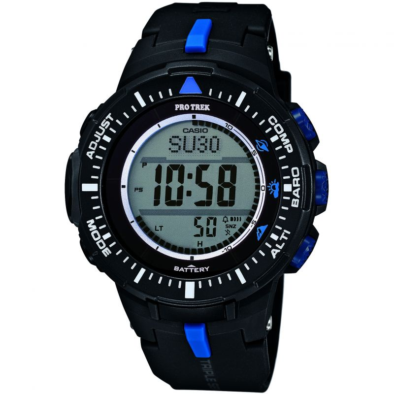 Herren Casio Pro-Trek Alarm Chronograph Watch PRG-300-1A2ER