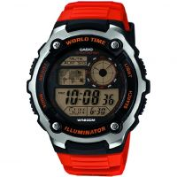 Hommes Casio Sports Alarme Chronographe Montre