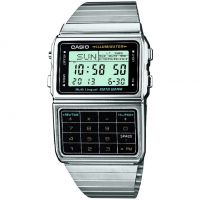 Casio Core Collection Databank Unisexkronograf Silver DBC-611E-1EF