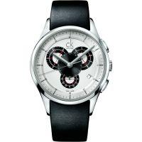 Herren Calvin Klein Basic Chronograph Watch K2A27188