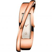 Damen Calvin Klein feminin Klein Armreif Uhren