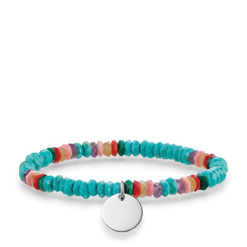 Ladies Thomas Sabo Sterling Silver Love Bridge Bracelet LBA0027-834-7-L15.5