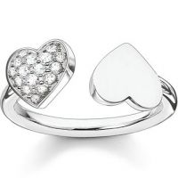 Ladies Thomas Sabo Sterling Silver Ring Size S.5