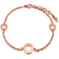 Ladies Folli Follie PVD rose plating Classy Bracelet 5010.3194