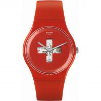 Unisex Swatch Around The Clock SUOR106