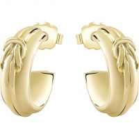 Ladies Guess Gold Plated Earring