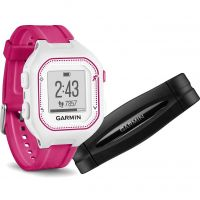 Unisex Garmin Forerunner 25 Bluetooth Smart HRM Bundle Alarm Chronograph Watch