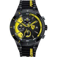 Herren Scuderia Ferrari RedRev Evo Chronograph Watch 0830261
