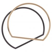 Biżuteria damska Karen Millen Jewellery Stirrup Double Bangle KMJ851-07-03
