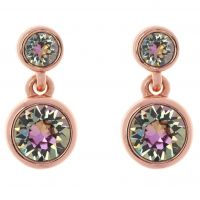 femme Karen Millen Jewellery Crystal Dot Earrings Watch KMJ879-24-99