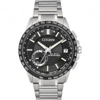 Herren Citizen Satellite Welle-World Zeit GPS Eco-Drive Uhr