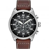 Mens Citizen Avion Chronograph Eco-Drive Watch