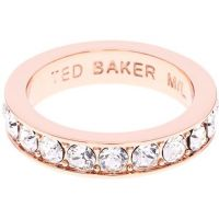 Ted Baker Jewellery Claudie Narrow Crystal Band Ring Sm JEWEL
