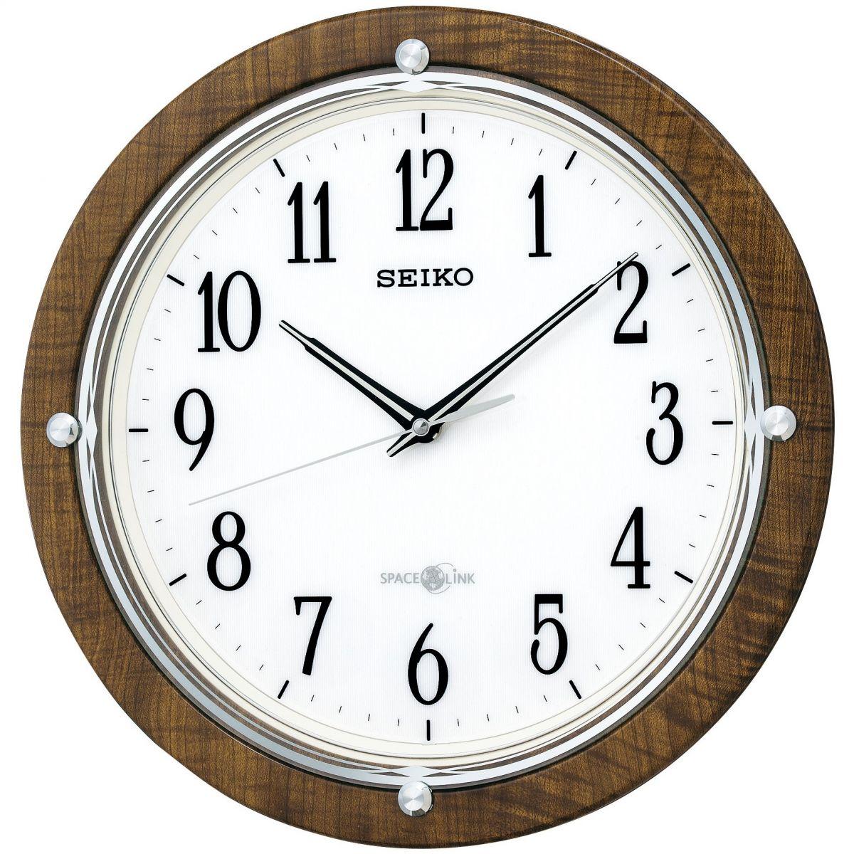 Clock Seiko Clocks Space Link Wall Clock Watch Qxz004b