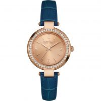 Damen Caravelle neu York mini T-Bar Uhr