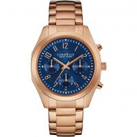 femme Caravelle New York Melissa Chronograph Watch 44L199