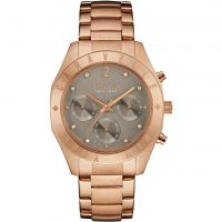 Damen Caravelle New York Boyfriend Chronograph Watch 44L190