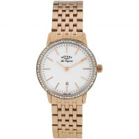 femme Rotary Swiss Made Kensington Quartz Watch LB90054/06
