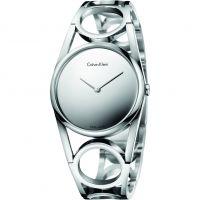 Damen Calvin Klein rund Uhr