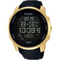 Herren Pulsar Wecker Chronograf Uhr