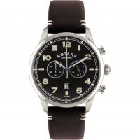 Rotary Exclusive Herenchronograaf Bruin GS00482/04