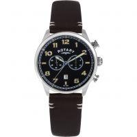 Herren Rotary Exklusives Chronograf Uhr