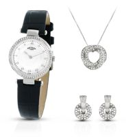 Ladies Rotary Exclusive Necklace Gift Set Watch