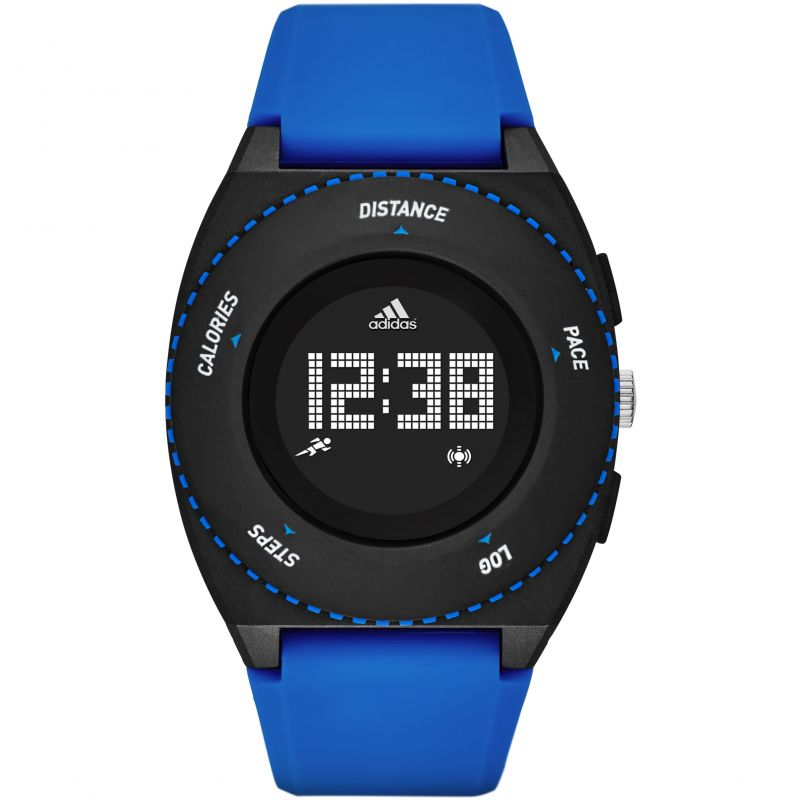 Unisex Adidas Performance Sprung Activity Tracker Alarm Chronograph Watch ADP3201