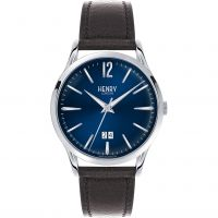 Herren Henry London Heritage Knightsbridge Watch HL41-JS-0035