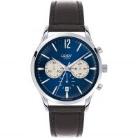 Herren Henry London Heritage Knightsbridge Chronograph Watch HL41-CS-0039